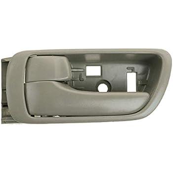 For 97-01 Camry Beige Tan Inside Inner Bezel Door Handle Right Passenger Side