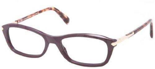 Prada PR04PV Eyeglasses-ROM/1O1 - Prada Glasses Purple