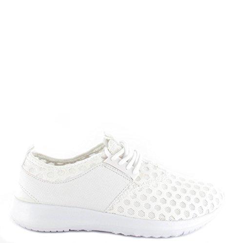 Damen Running Trainer Damen Leichtes, Gym Sport Schuhe Größen Weiß