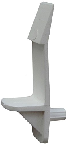 D.H.S. 5mm Self-Locking Cabinet Shelf Support Pegs for 3/4' Thick Shelves - White - Box of 25