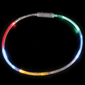 Lot of 10 Flashing Panda LED Multi-Color Flashing Tube -