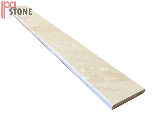 Crema Marfil Marble Saddle Threshold by IPA STONE (36 x 5, Polished)