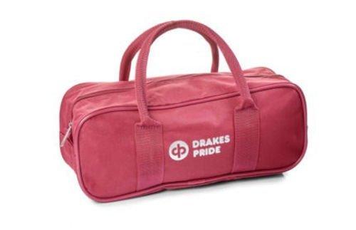 非常に高い品質 Drakes Prideクラウングリーン/フラットグリーン2ボウル&ジャックファスナーバッグ  マルーン B01M1HWIBM, ジーニングハウス JACK本店 060b4004