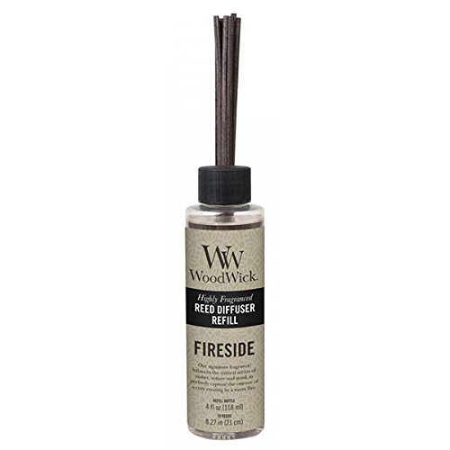 WoodWick Fireside Reed Diffuser Refill, 4 oz.