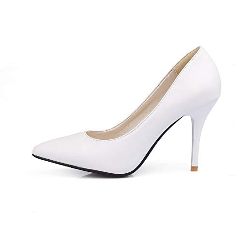 Blanc Sandales Compensées SDC05572 Femme AdeeSu AI8PwP