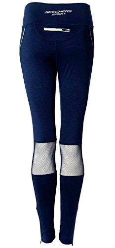 Skechers - Medias deportivas - para mujer azul marino