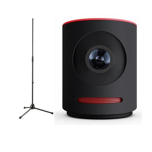 Mevo Live Event Camera by Livestream, Black - With K&M 20170-500-55 Microphone Stand by Mevo
