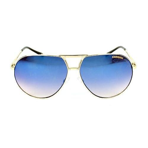 45b2a3bab245 Carrera Sunglasses Turbo B J5GKM Metal Gold Gradient grey black mirror free  shipping