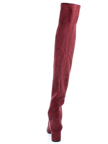 Rojo Mujer para Botines Madden Steve Isaac PqaEX
