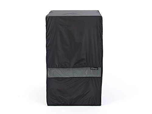 CoverMates – Square Smoker Cover – 27W x 20D x 42H – Classic Collection – 2 YR Warranty – Year Around Protection - Black