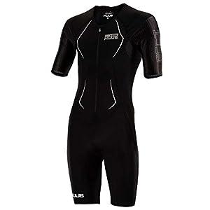 Huub Dave Scott Long Course Triathlon Suit Black Swimming Tri Open Water XS-XXL