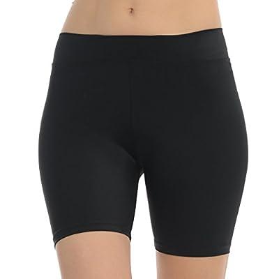 "ANZA Girls 5"" Inseam Dance Shorts Bike Yoga Exercise Shorts"