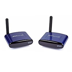 SainSonic SS-630 5.8GHZ 8 Channels AV Wireless Audio Video Transmitter & Receiver 100M