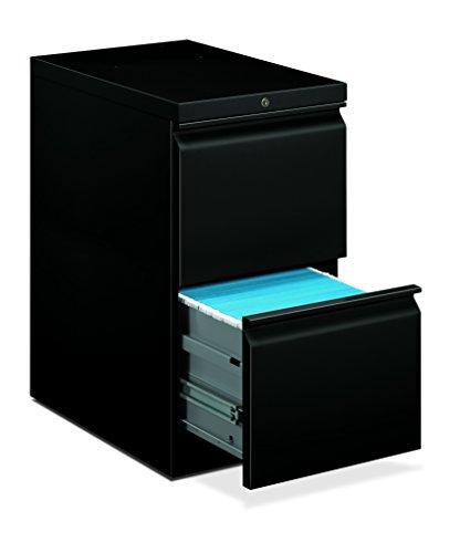 HON Brigade Mobile Pedestal | 2 File Drawers | Radius Pull | 15
