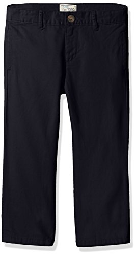 Navy School Uniform Pants (The Children's Place Boys Size Uniform Chino Pants, New Navy, 4 Slim)