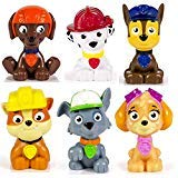 Paw Patrol Mini Figures Set of Six, Rocky,