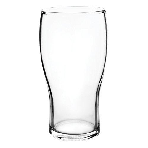 TRUE Pub Beer Glass, 20 oz, Clear