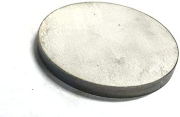"""Stainless Steel Disc x 6-3//8/"""" Diameter 1//8/"""" .125 Circle Round 304 SS"""