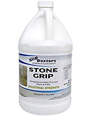Stone Grip Industrial (Gallon) Non-Slip Floor Treatment for Tile and Stone to Prevent Slippery Floors. Indoor/Outdoor, Residential/Commercial, Works in Minutes for Increased Traction