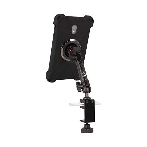 "The Joy Factory MagConnect Carbon Fiber C-Clamp Stand Mount w/aXtion Bold M Water-Resistant Rugged Shockproof Case for Samsung Galaxy Tab A 8"" (MWS3002M) - 31rSE8FmHzL - The Joy Factory MagConnect Carbon Fiber C-Clamp Stand Mount w/aXtion Bold M Water-Resistant Rugged Shockproof Case for Samsung Galaxy Tab A 8″ (MWS3002M)"
