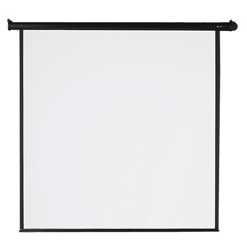 Quartet Electric Projection Screen, 70 x 70 Inches, Black Frame (770S) by Quartet