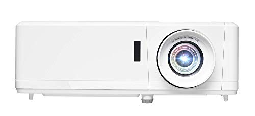 Optoma HZ39HDR Laser Home Theater Projector with HDR | 4K Input | 4000 lumens | Lamp-Free Reliable Operation 30,000 hours | Easy Setup with 1.3X Zoom | Quiet Operation 32dB | (Renewed)