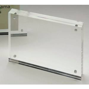 Clear Acrylic Sign Holders 6 1/4 x 4 3/4 by Retail Resource