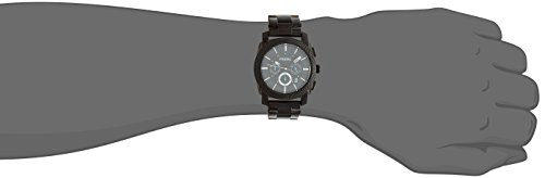 c3113ef32ba Amazon.com  Fossil Men s Machine Quartz Stainless Steel Chronograph Watch
