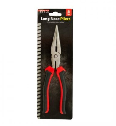 SKB Family Long Nose Pliers tool box sturdy metal comfortable handles