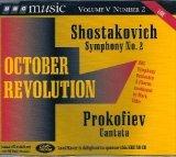 Price comparison product image BBC Music :Shostakovich Symphony No.2 Prokofiev Cantata Op.74 Vol. V No.2