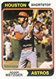 Sporting Goods : 1974 Topps Regular (Baseball) Card# 224 Roger Metzger of the Houston Astros ExMt Condition