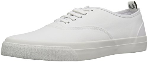 Fred Perry Mens Barson Canvas Barson Canvas White/Snow White