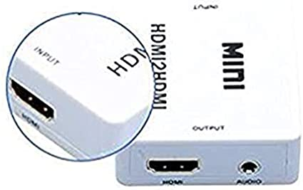 hdmihome 1080p HDMI Audio Extractor Splitter HDMI 1.4 Digital to Analog 3.5mm Out Audio Adapter