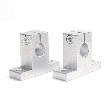 INVENTO 12 piezas SK12 soporte para barra lineal de 10 mm, soporte ...