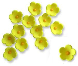 "JEM Cutters Icing Blossoms - ½"" - Yellow - 50 pcs"