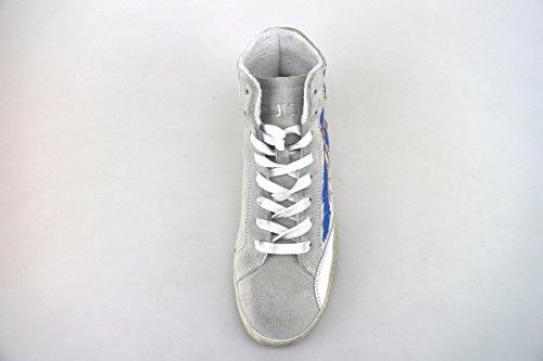 CULT sneakers donna bianco ghiaccio camoscio pelle AH868