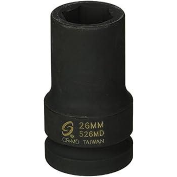 KT Pro Tools C1330M08 3//8 Drive 6-Point Deep Socket King Tony