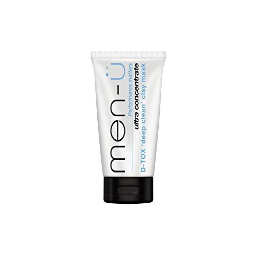 男性- -深いクリーンクレイマスク(100ミリリットル) x2 - Men- D-Tox Deep Clean Clay Mask (100ml) (Pack of 2) [並行輸入品] B0722KHT9Z