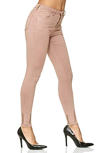Fit Collant Pantalon Elara Rosa Stretch Slim Skinny Chunkyrayan Taille Femme Paris Jeans Crayon Haute xqYFrdnYHz