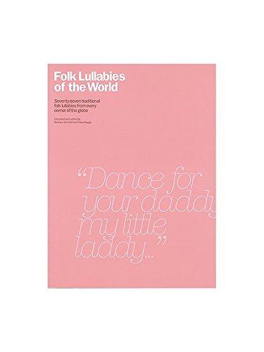 Folk Lullabies Of The World. Partitions pour Ligne De Mélodie, Paroles et Accords Oak Publications