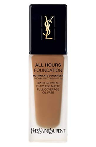 YVES SAINT LAURENT All Hours Full Coverage Matte Foundation SPF 20 25ml # B80 Chocolate