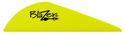 Bohning Blazer Vane (Pack of 36), Neon Yellow (Vanes Neon Blazer Yellow)