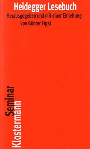 Heidegger Lesebuch (Klostermann Seminar) (German Edition)