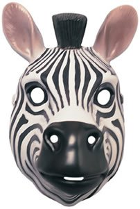 Rubie's Costume Co Animal Mask-Zebra (Adult Themed Costumes)