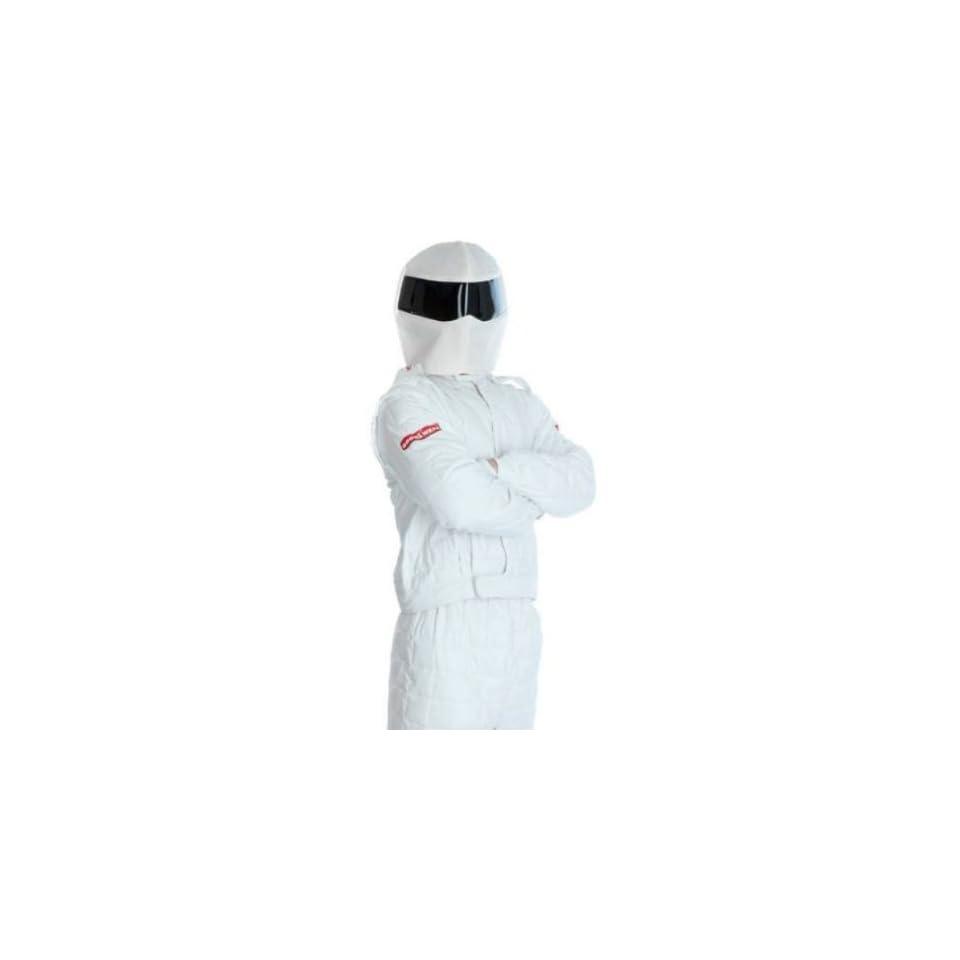 The Stig Race Suit Fancy Dress Costume & Helmet   LARGE