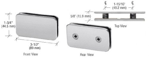 Double Stud Glass Clamp - 9