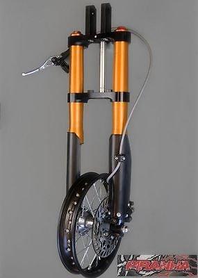 (Piranha Front End Kit Crf50 Xr50 Forks Wheel Disc Brake Clamps)