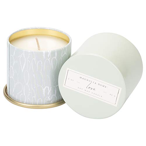 - Love Scented 3.0 ounce Soy Wax Tin Candle by Joanna Gaines - Illume
