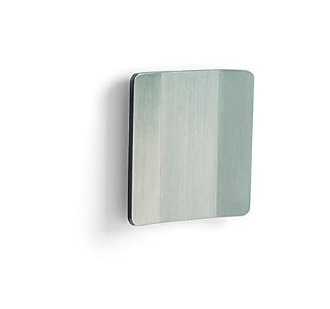 Viefe 0283150S25 Tirador Adhesivo para Puerta y Armario Corredera, Gris, 150 mm, Set de 2 Piezas