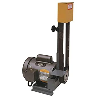 "Kalamazoo 1SM 1"" Belt Sander, 32 lbs, 1725 RPM, 1/3 HP Motor, 1"" x 42"" Belt, 4"" Contact Wheel"
